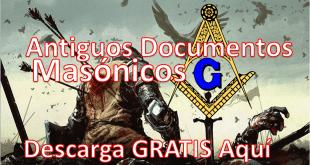 Antiguos Documentos Masonicos
