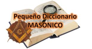 diccionario masonico